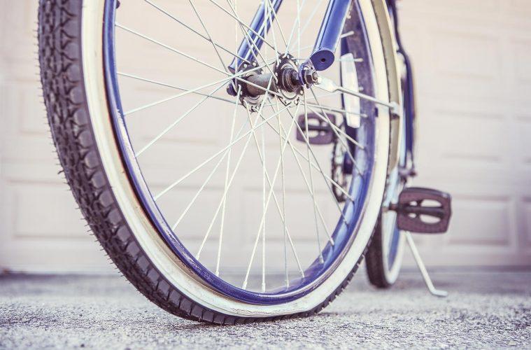 Bicicleta para tapar pinches
