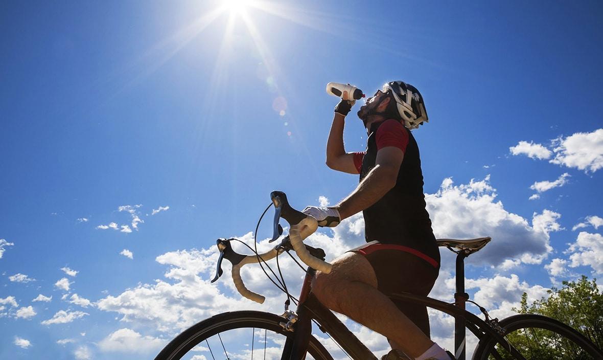 Hidratación antes, durante y después del ejercicio... - Aro y Pedal