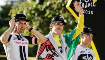 Ganadores del Tour de Francia 2018